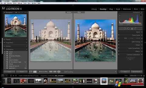 Snimak zaslona Adobe Photoshop Lightroom Windows XP