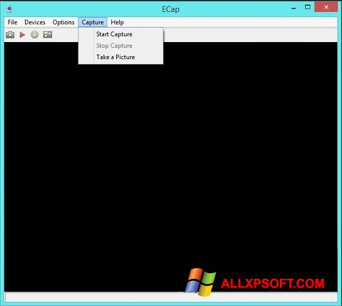 Snimak zaslona ECap Windows XP