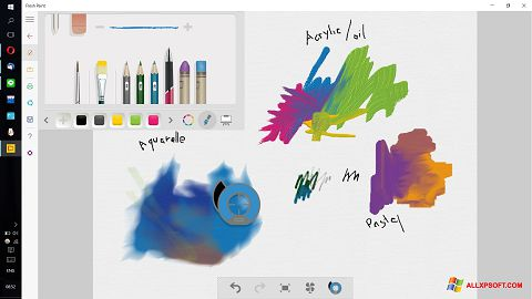 Snimak zaslona Fresh Paint Windows XP