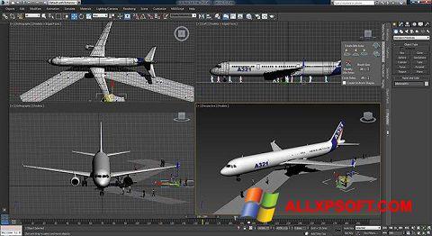 Snimak zaslona 3ds Max Windows XP