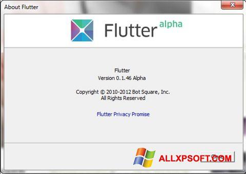 Snimak zaslona Flutter Windows XP