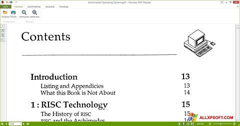 Snimak zaslona Hamster PDF Reader Windows XP