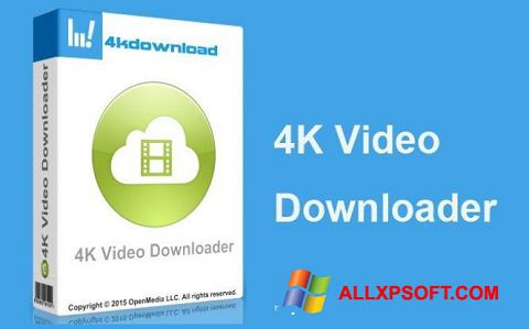 Snimak zaslona 4K Video Downloader Windows XP