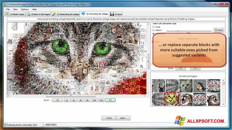 Snimak zaslona Photo Collage Maker Windows XP