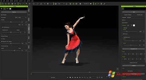 Snimak zaslona iClone Windows XP
