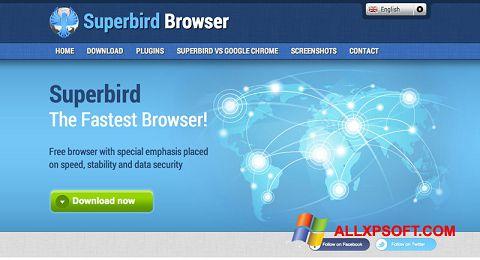 Snimak zaslona Superbird Windows XP