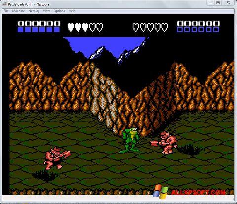 Snimak zaslona Nestopia Windows XP