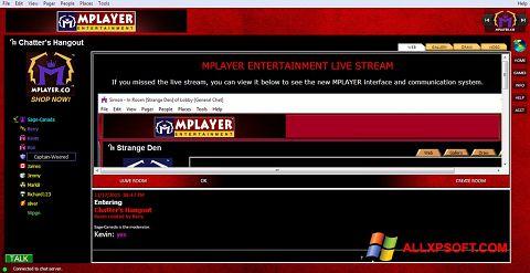 Snimak zaslona MPlayer Windows XP