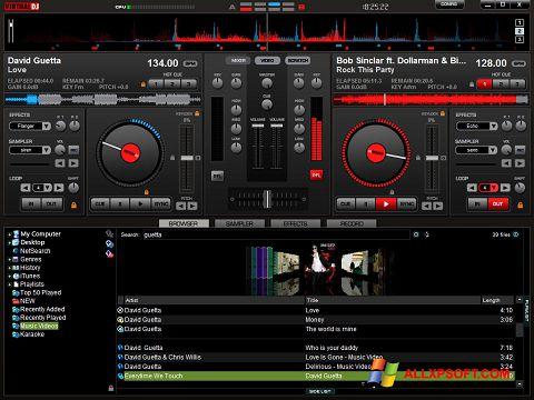 Snimak zaslona Virtual DJ Pro Windows XP