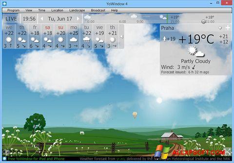 Snimak zaslona YoWindow Windows XP