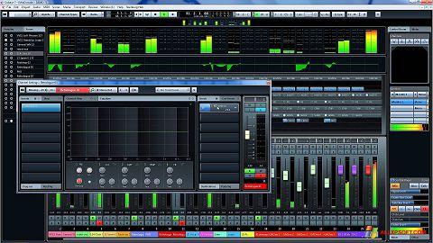 Snimak zaslona Cubase Windows XP