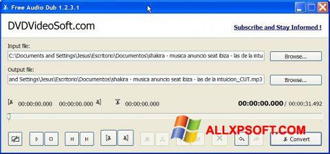 Snimak zaslona Free Audio Dub Windows XP