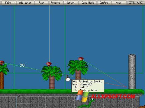 Snimak zaslona Game Editor Windows XP