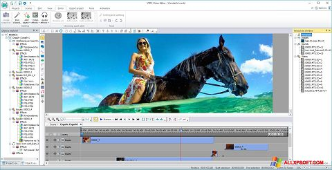 Snimak zaslona Free Video Editor Windows XP