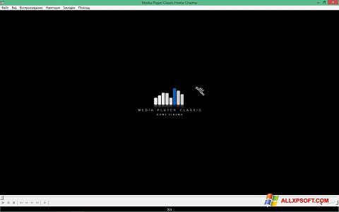 Snimak zaslona Media Player Classic Home Cinema Windows XP