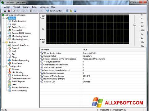 Snimak zaslona TMeter Windows XP