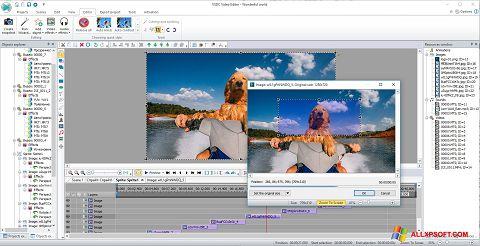Snimak zaslona VSDC Free Video Editor Windows XP