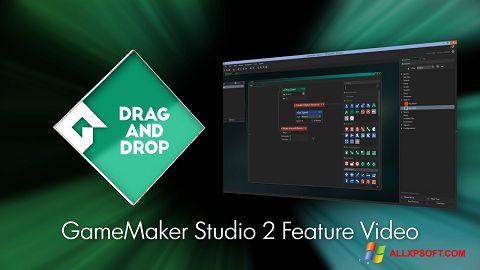 Snimak zaslona Game Maker Windows XP