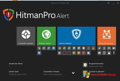 Snimak zaslona HitmanPro Windows XP
