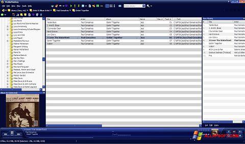 Snimak zaslona MediaMonkey Windows XP