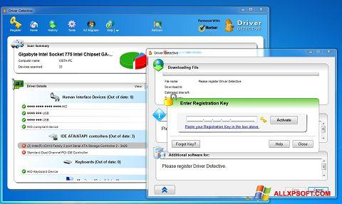 Snimak zaslona Driver Detective Windows XP