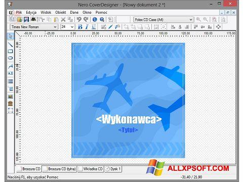 Snimak zaslona Nero Cover Designer Windows XP