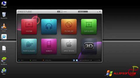 Snimak zaslona Free Studio Windows XP