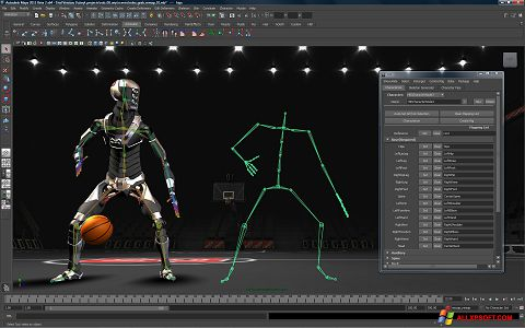 Snimak zaslona Autodesk Maya Windows XP