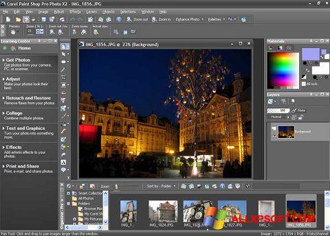 Snimak zaslona PaintShop Pro Windows XP