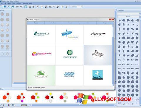 Snimak zaslona Sothink Logo Maker Windows XP