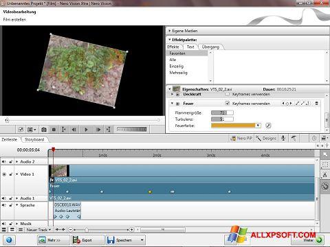 Snimak zaslona Nero Vision Windows XP