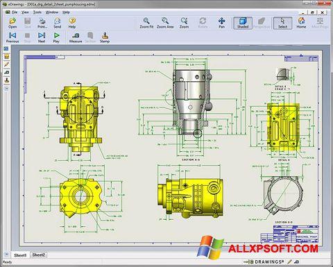 Snimak zaslona SolidWorks Viewer Windows XP