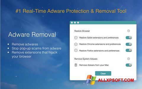 Snimak zaslona Adware Removal Tool Windows XP