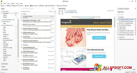 Snimak zaslona eM Client Windows XP