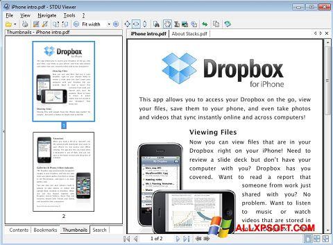 Snimak zaslona STDU Viewer Windows XP