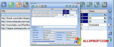 Snimak zaslona VideoGet Windows XP