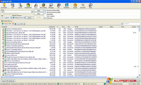 Snimak zaslona eMule Windows XP
