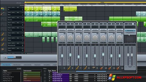Snimak zaslona MAGIX Music Maker Windows XP