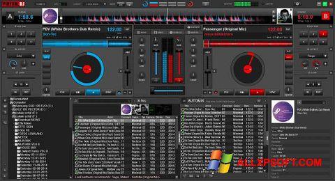 Snimak zaslona Virtual DJ Windows XP