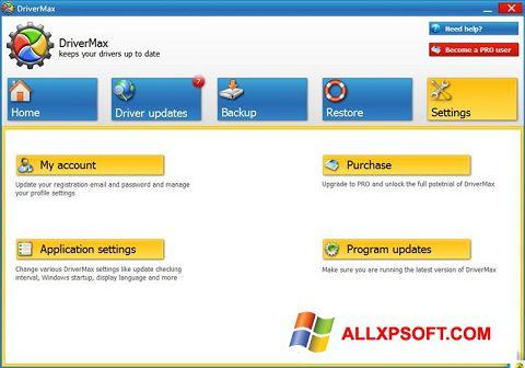Snimak zaslona DriverMax Windows XP