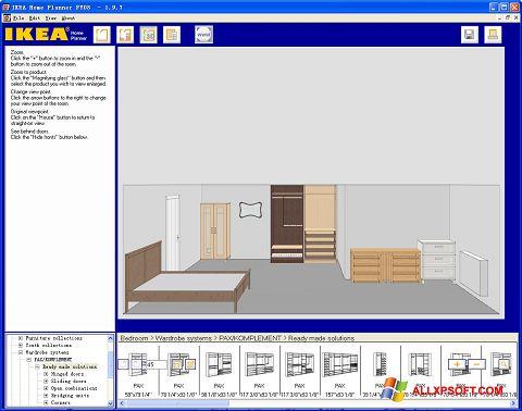 Snimak zaslona IKEA Home Planner Windows XP