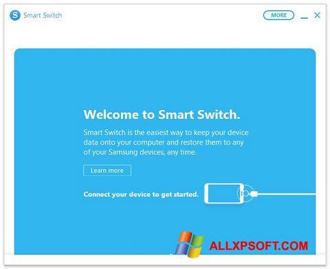 Snimak zaslona Samsung Smart Switch Windows XP