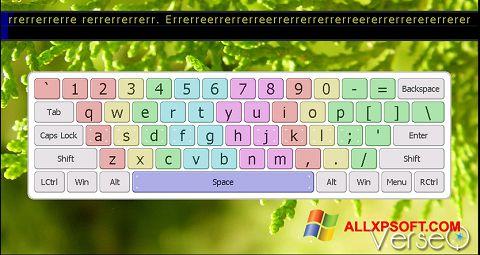Snimak zaslona VerseQ Windows XP