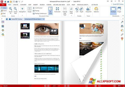 Snimak zaslona Soda PDF Windows XP