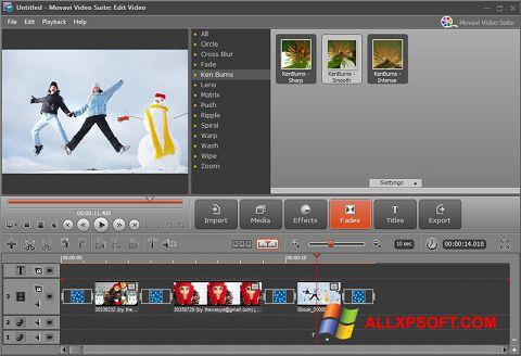Snimak zaslona Movavi Video Suite Windows XP