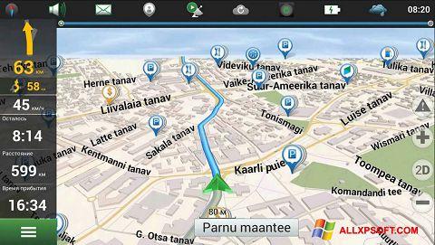 Snimak zaslona Navitel Navigator Update Center Windows XP