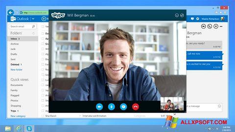 Snimak zaslona Skype Windows XP