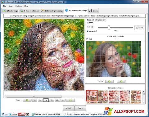Snimak zaslona Photo Collage Windows XP