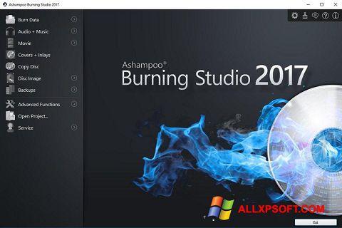 Snimak zaslona Ashampoo Burning Studio Windows XP