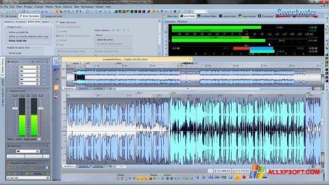 Snimak zaslona WaveLab Windows XP